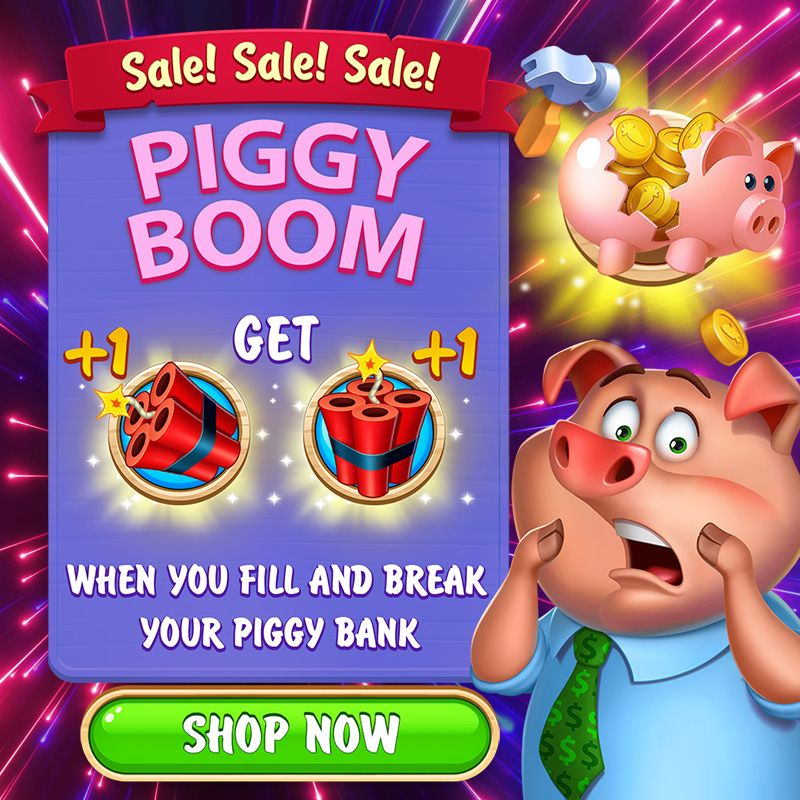 Word Farm Scapes Piggy Boom Sale