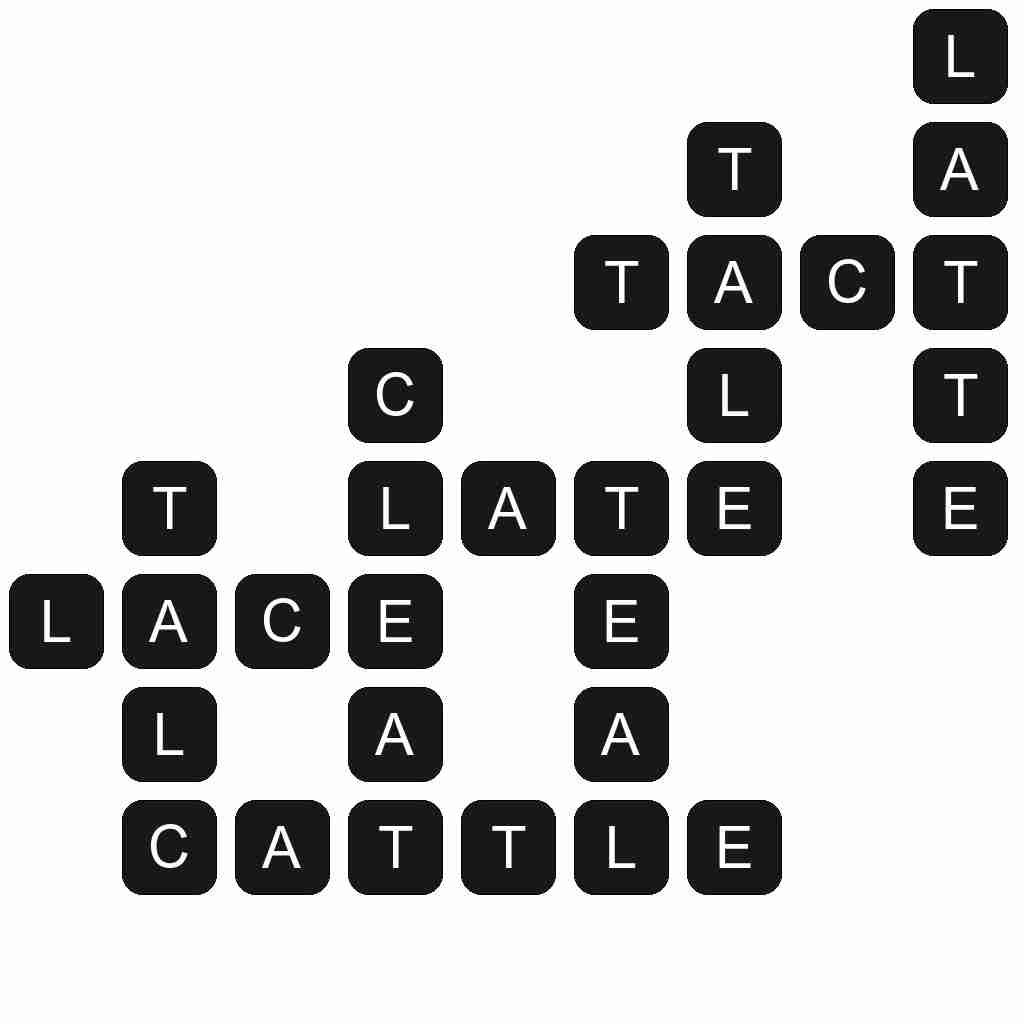 Wordscapes level 1255 answers