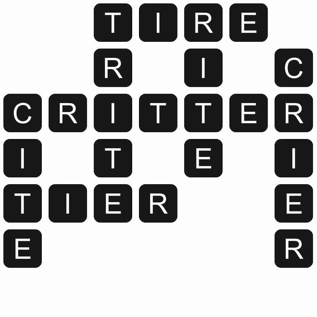 Wordscapes level 1383 answers