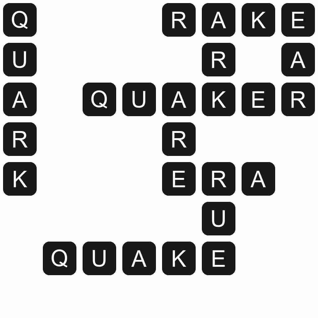 Wordscapes level 1643 answers