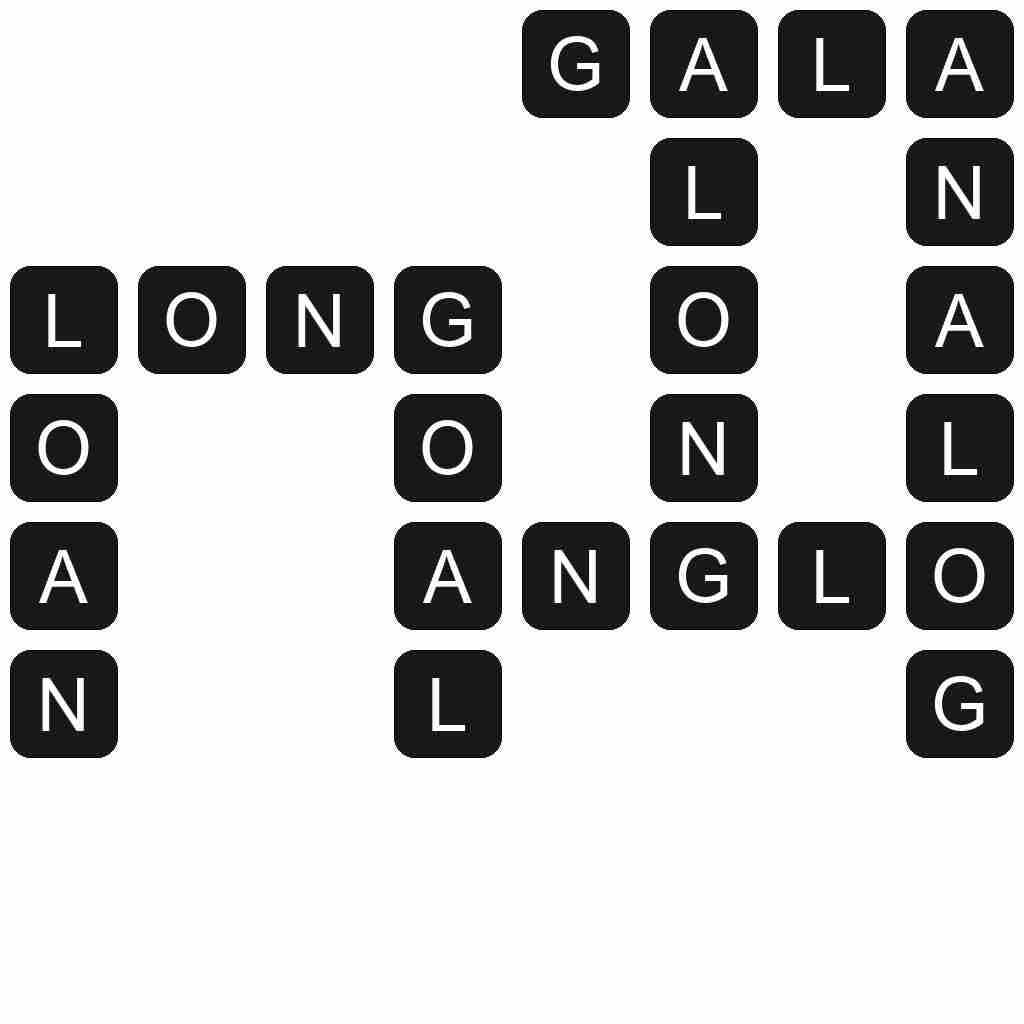 Wordscapes level 165 answers