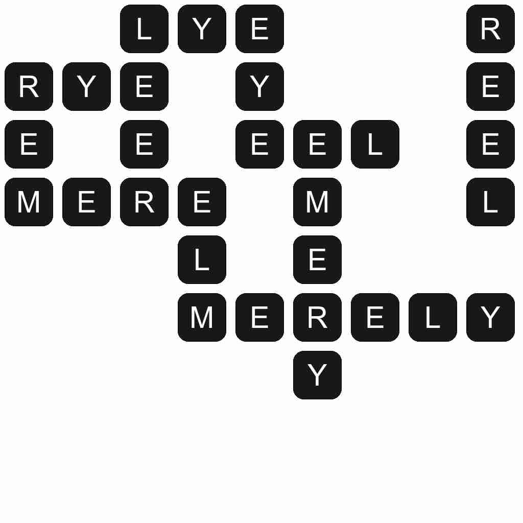 Wordscapes level 1767 answers