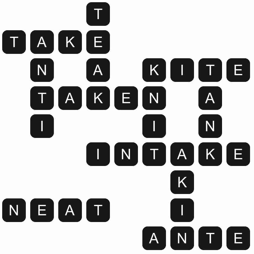 Wordscapes level 2222 answers