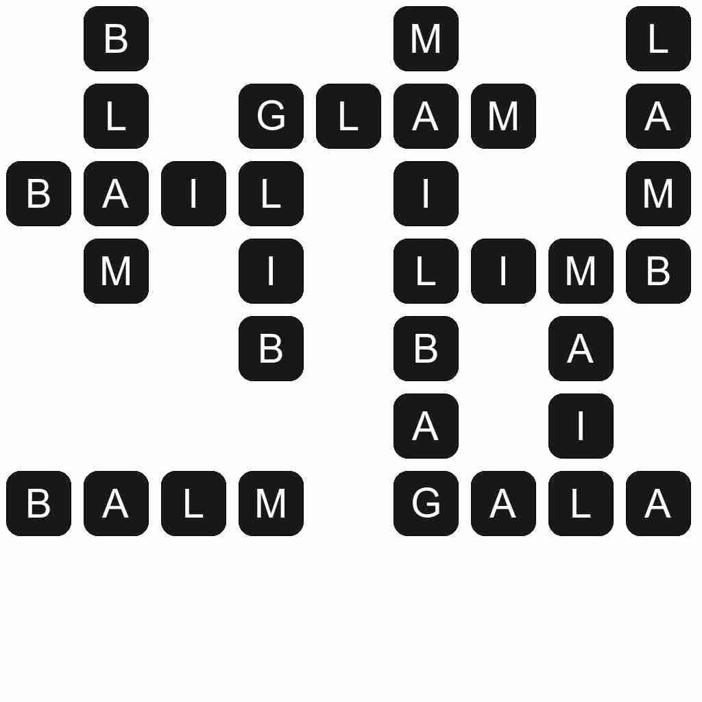 Wordscapes level 2550 answers