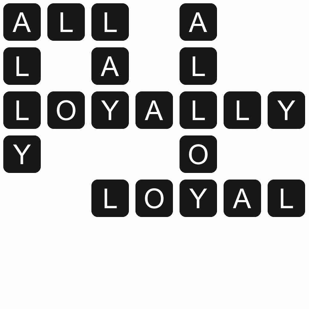 Wordscapes level 2579 answers