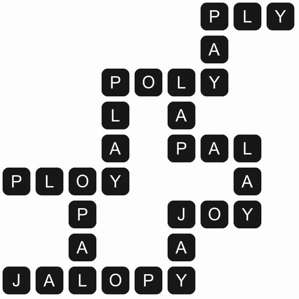 Wordscapes level 2719 answers