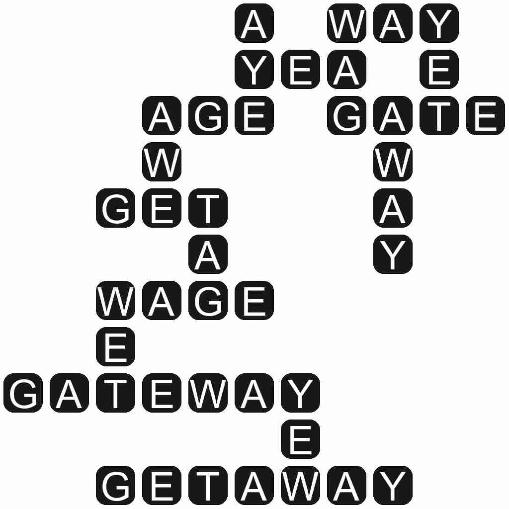 Wordscapes level 2915 answers