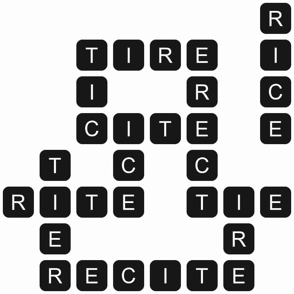Wordscapes level 303 answers