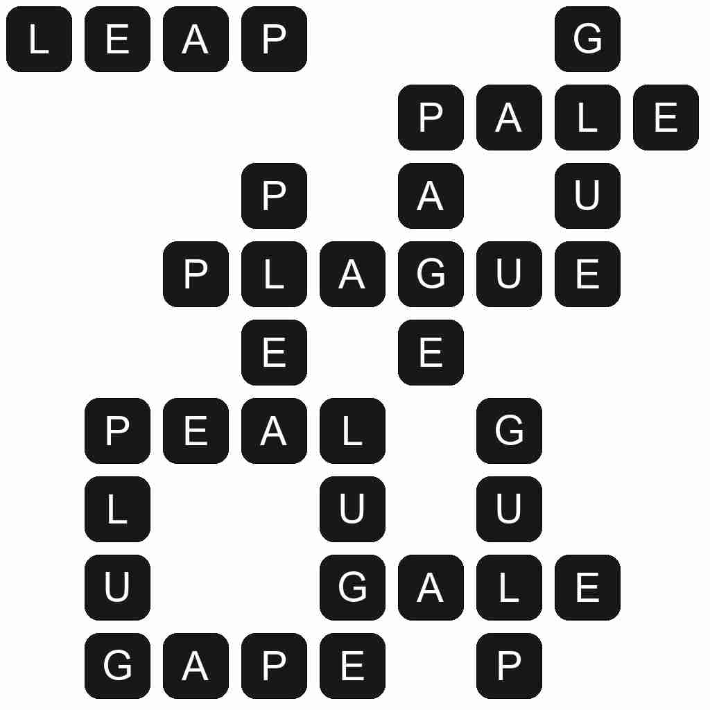 Wordscapes level 3074 answers