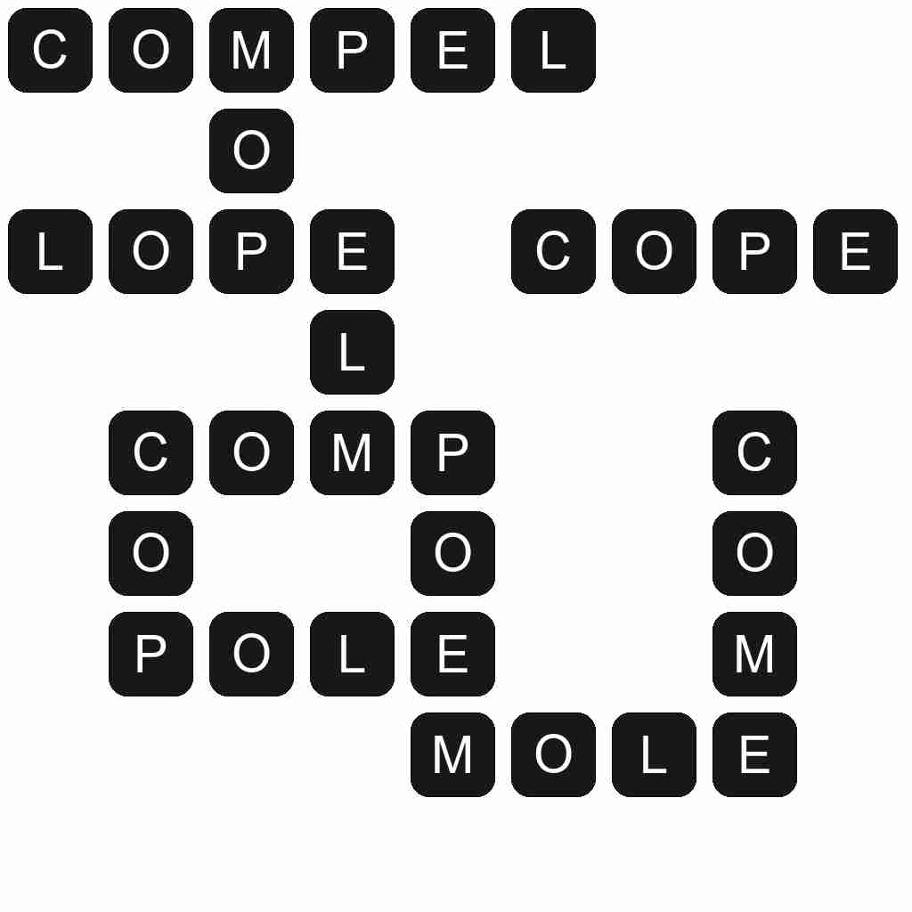 Wordscapes level 3093 answers