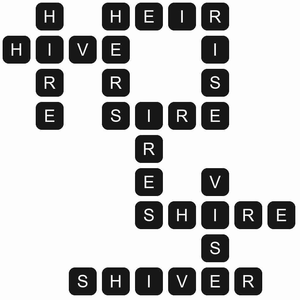 Wordscapes level 3339 answers