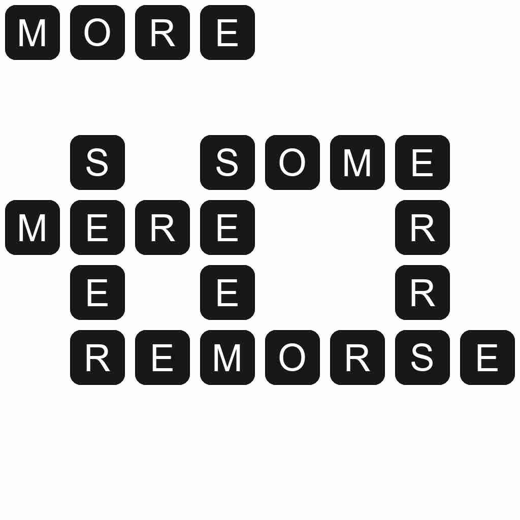 Wordscapes level 3427 answers