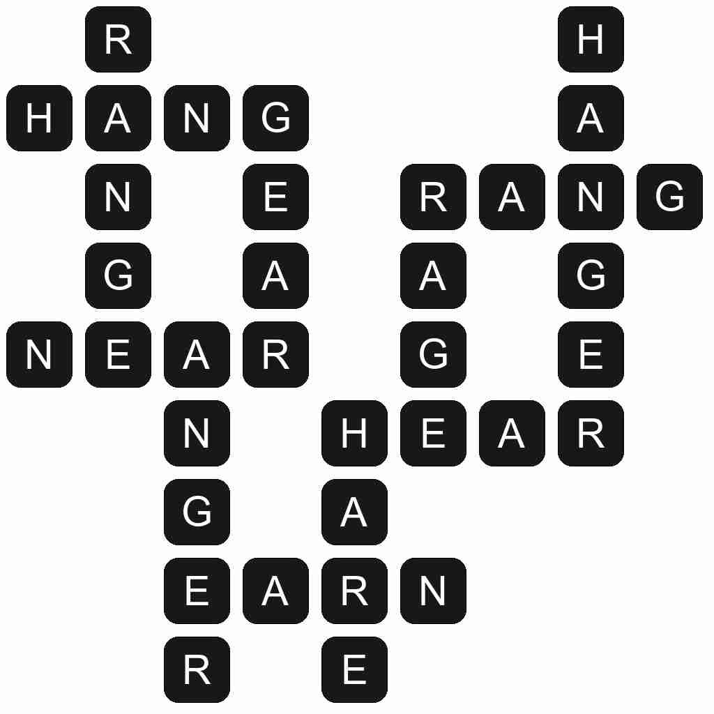 Wordscapes level 3433 answers