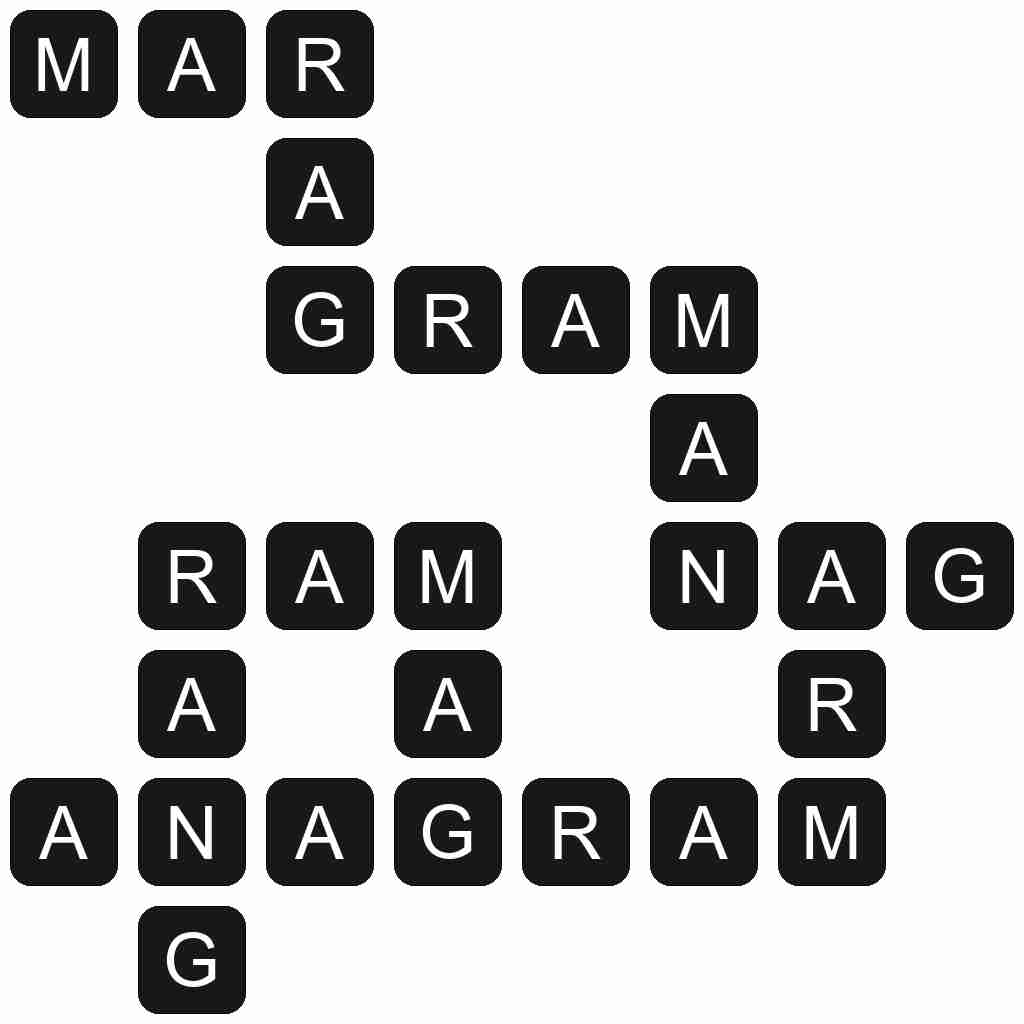 Wordscapes level 3465 answers