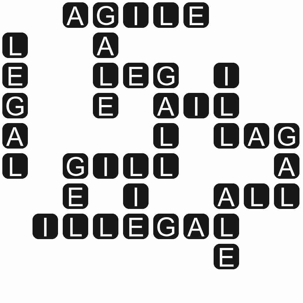 Wordscapes level 3474 answers