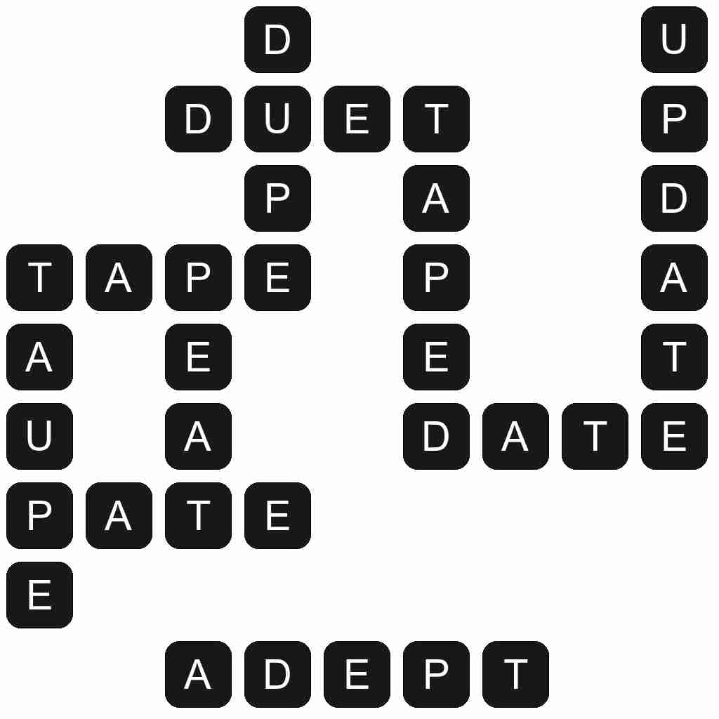 Wordscapes level 3494 answers