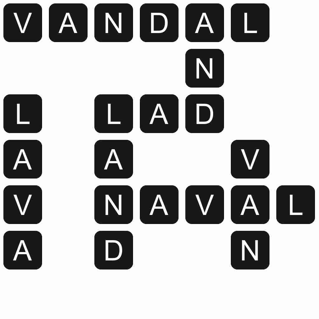 Wordscapes level 3529 answers
