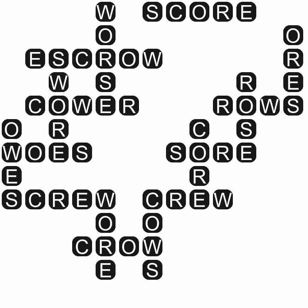 Wordscapes level 3564 answers