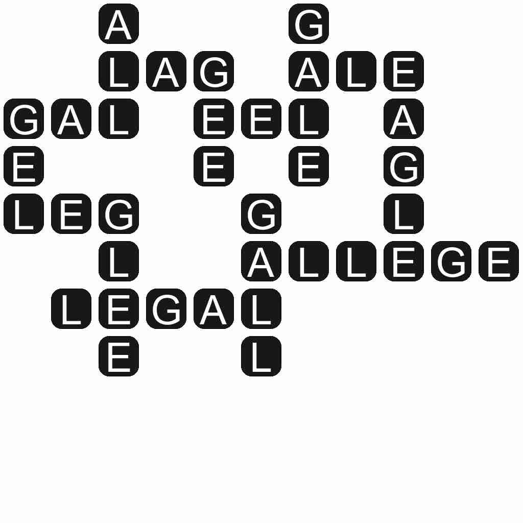 Wordscapes level 3679 answers