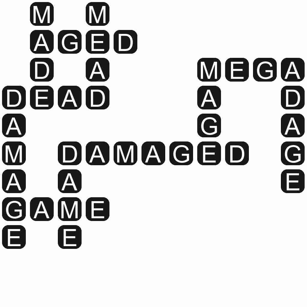 Wordscapes level 3697 answers
