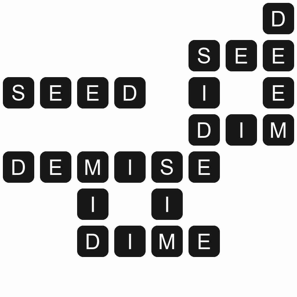 Wordscapes level 3721 answers