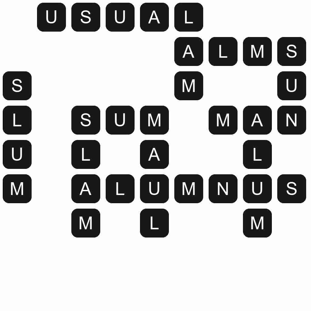 Wordscapes level 3725 answers