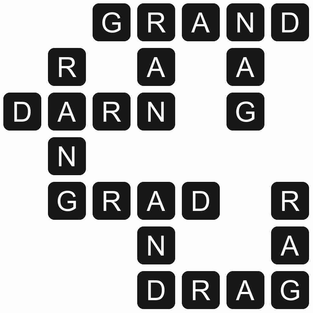 Wordscapes level 37 answers