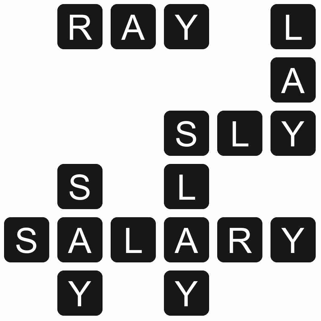 Wordscapes level 3855 answers