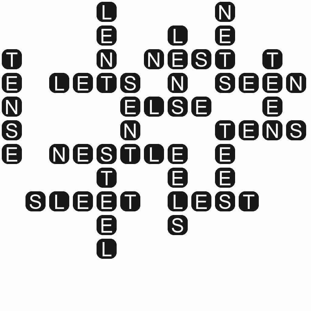 Wordscapes level 3860 answers