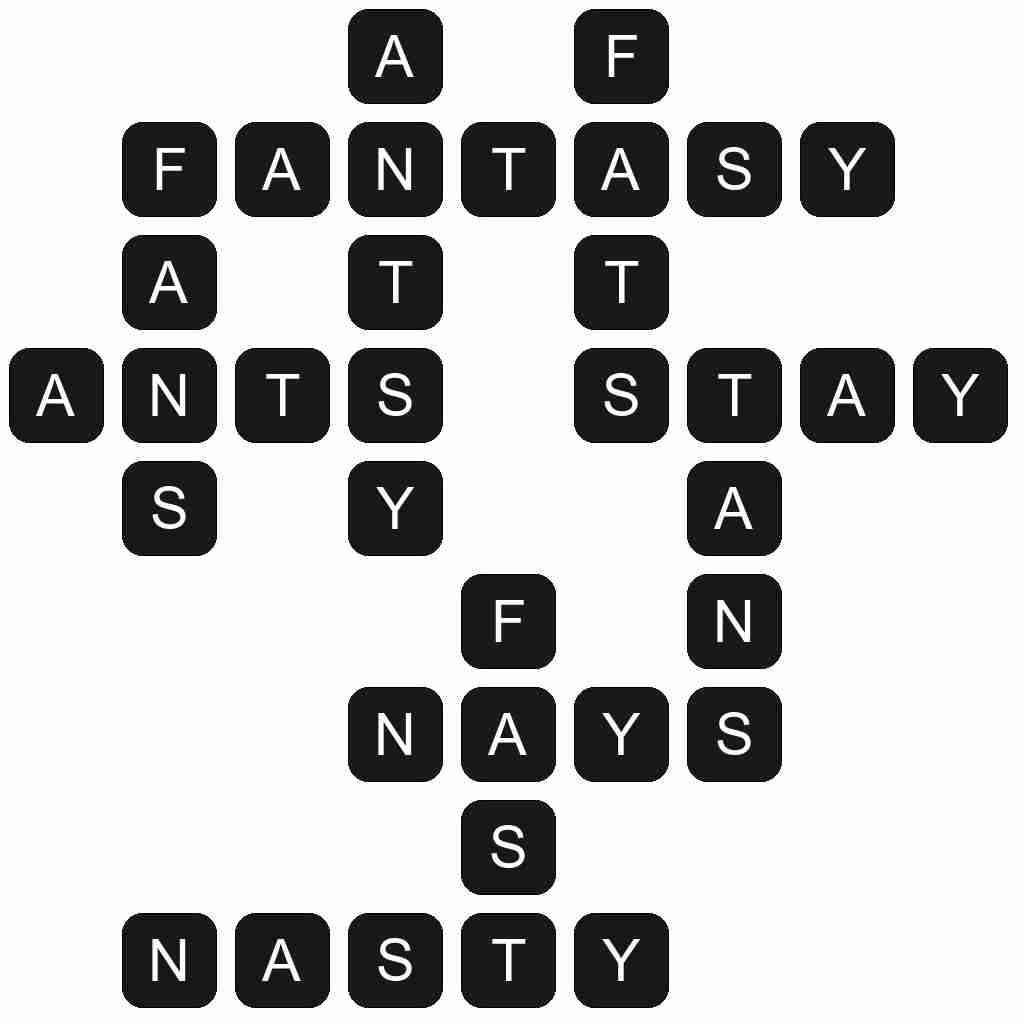 Wordscapes level 3982 answers