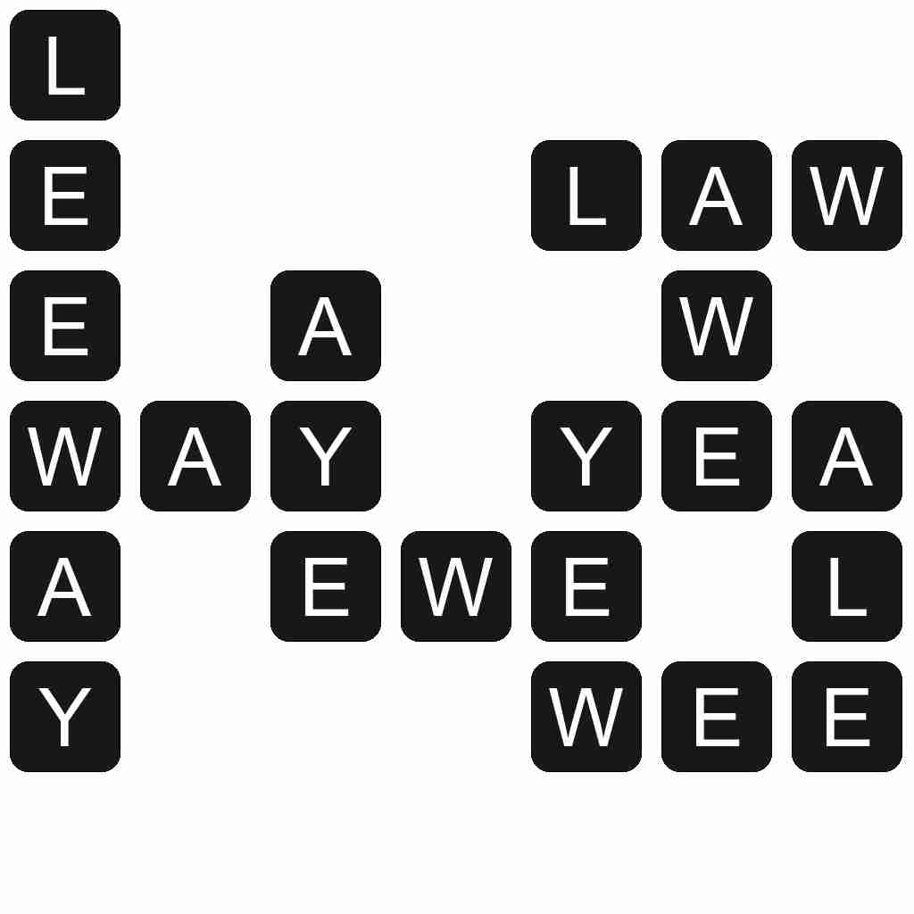 Wordscapes level 4029 answers