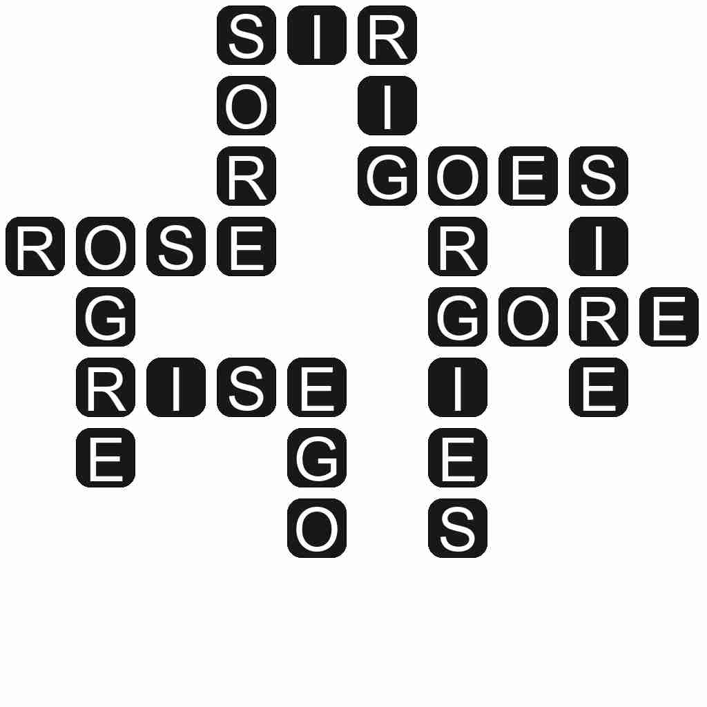 Wordscapes level 4059 answers