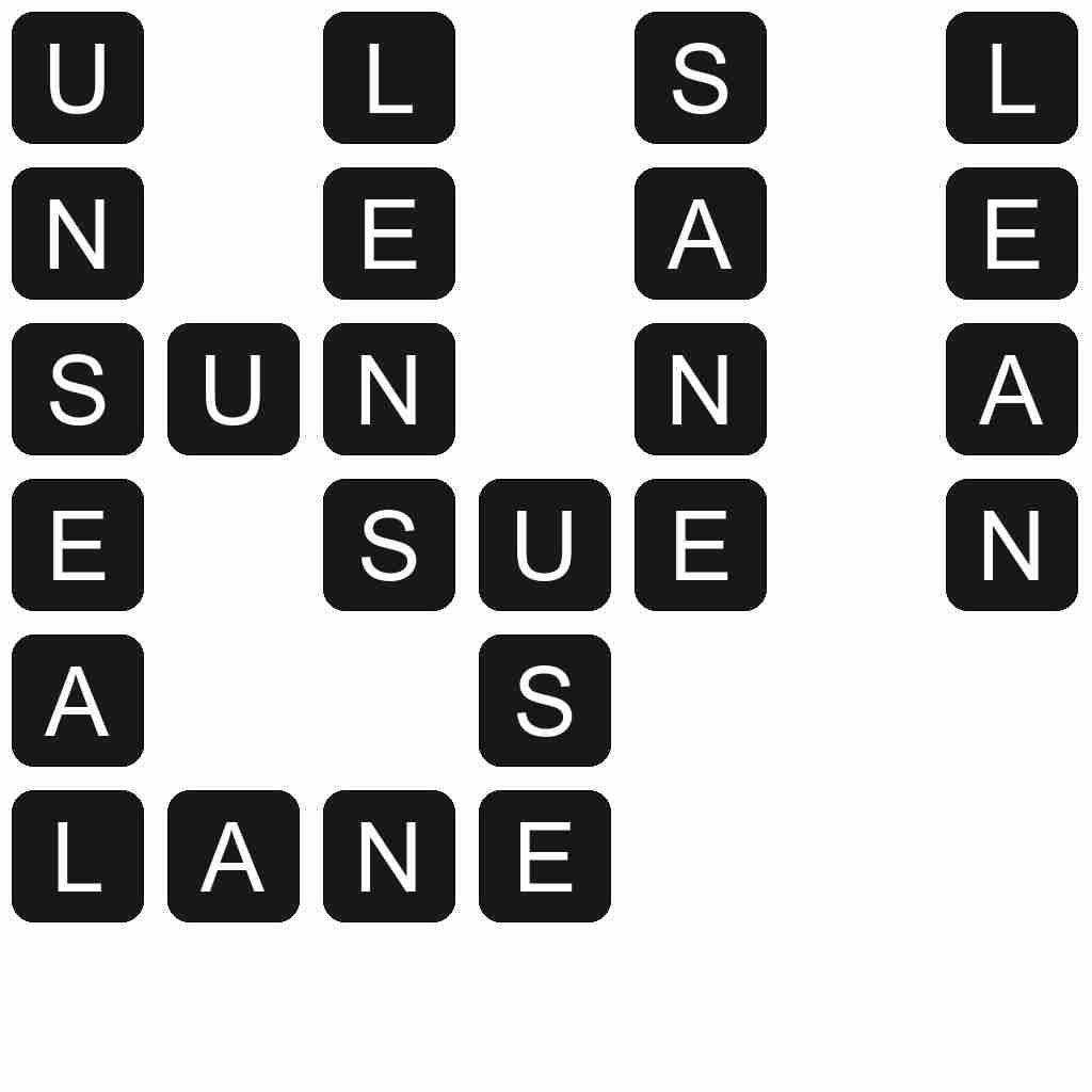 Wordscapes level 4083 answers