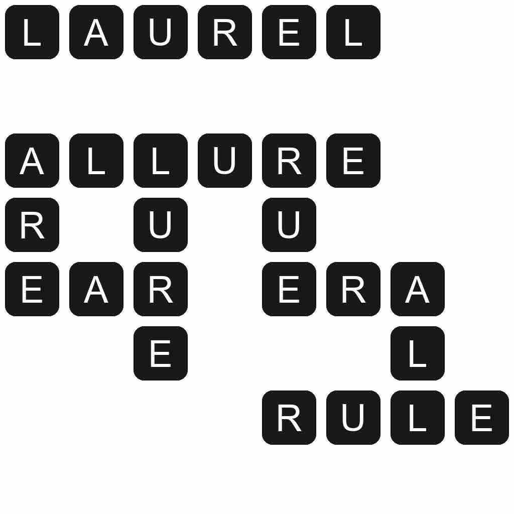 Wordscapes level 4111 answers