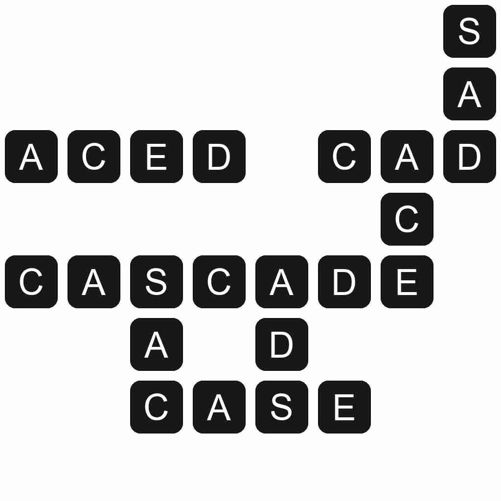 Wordscapes level 4131 answers