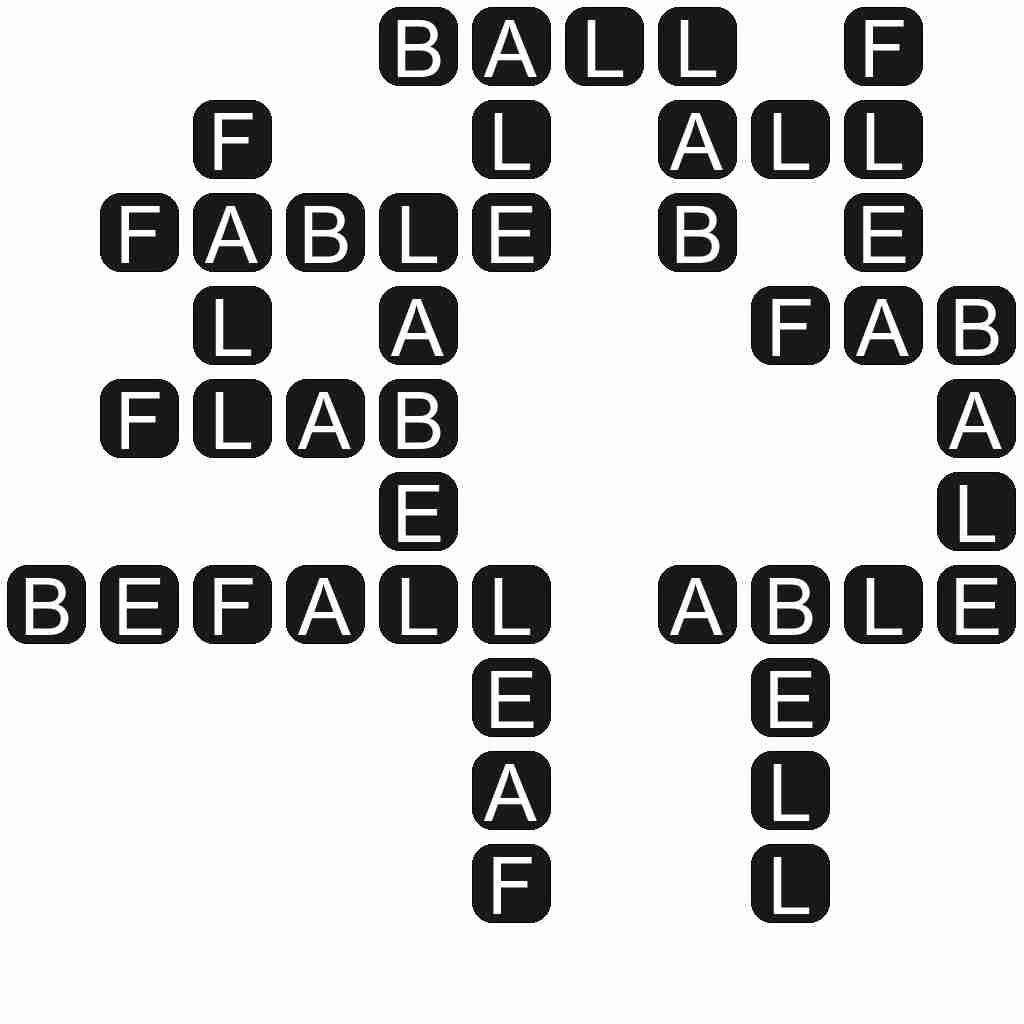 Wordscapes level 430 answers