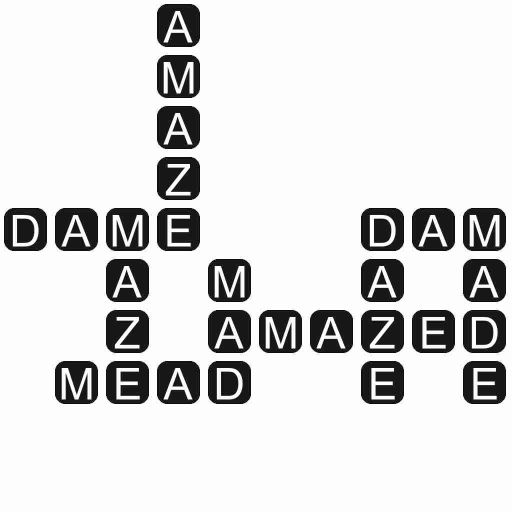 Wordscapes level 4321 answers