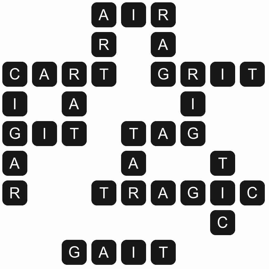 Wordscapes level 4379 answers