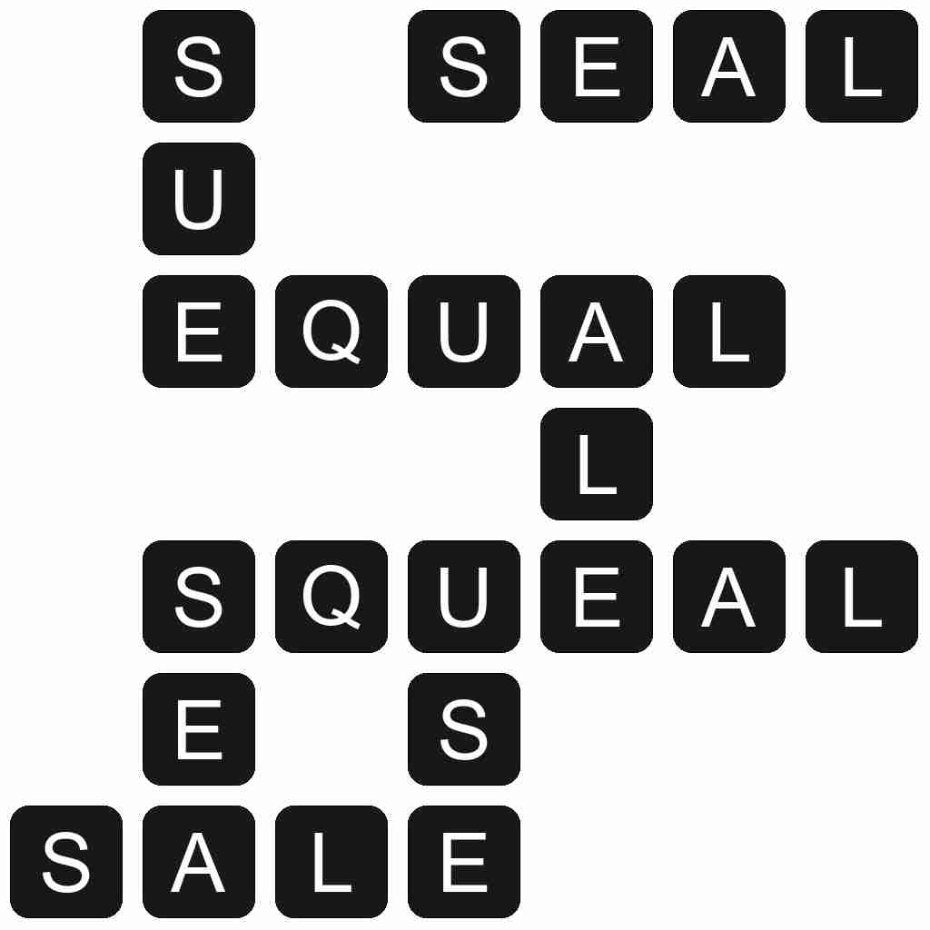 Wordscapes level 4419 answers