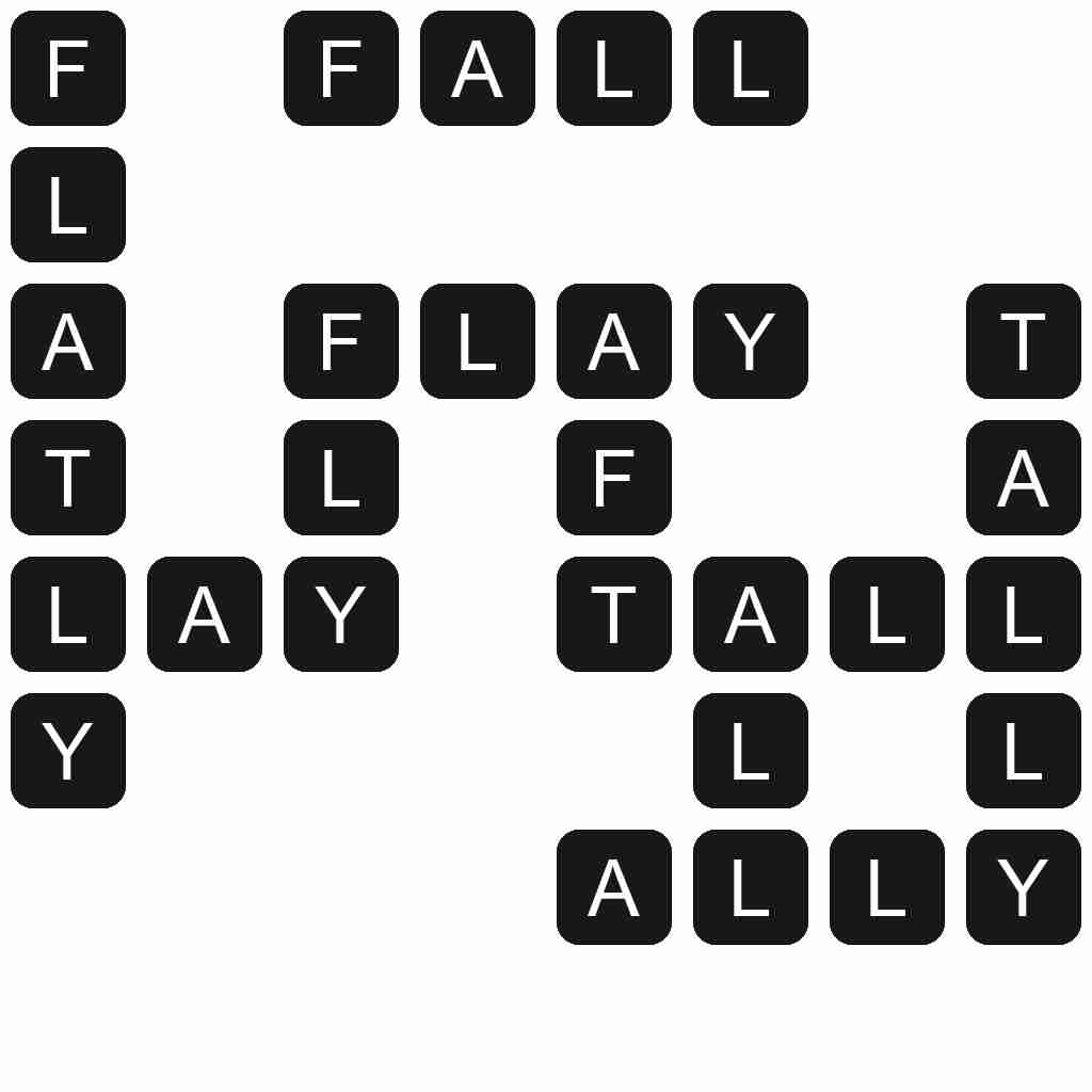 Wordscapes level 4451 answers