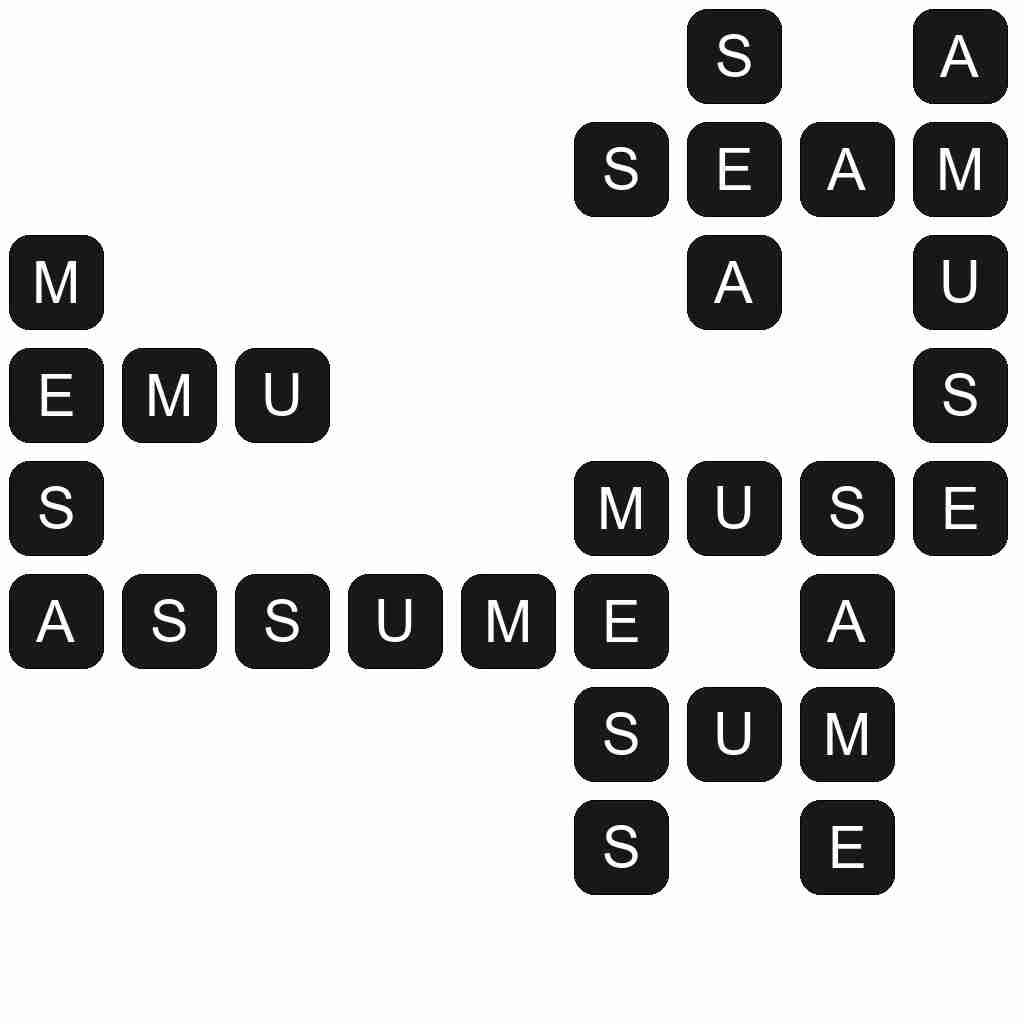 Wordscapes level 4627 answers