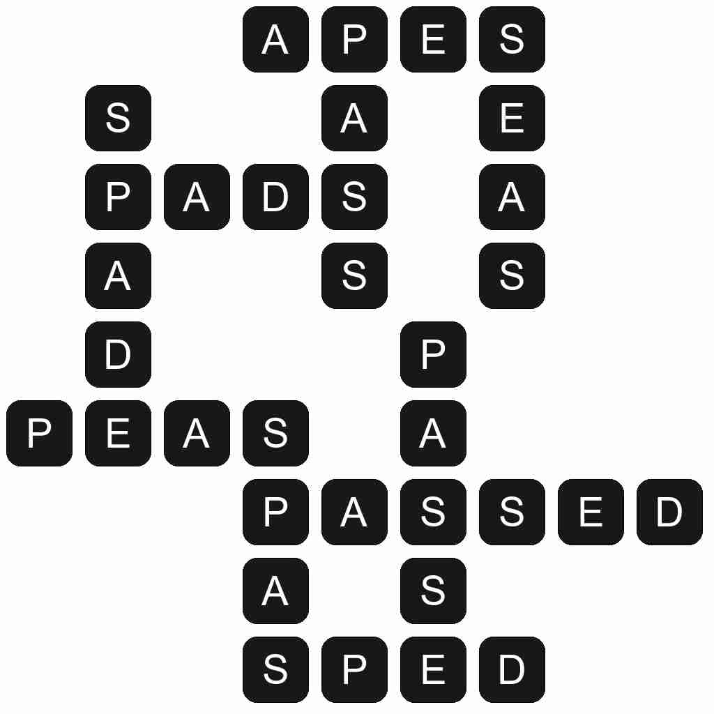 Wordscapes level 4651 answers