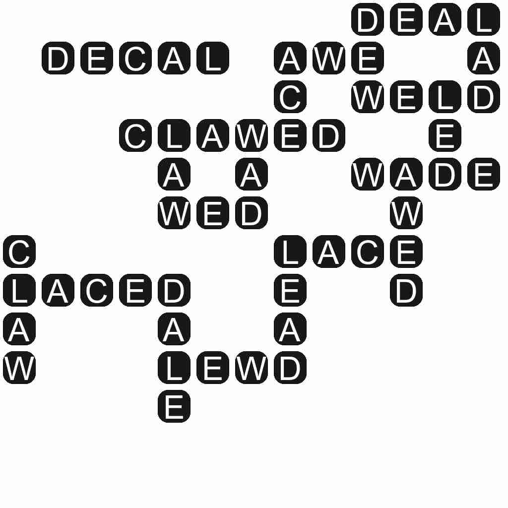 Wordscapes level 4652 answers