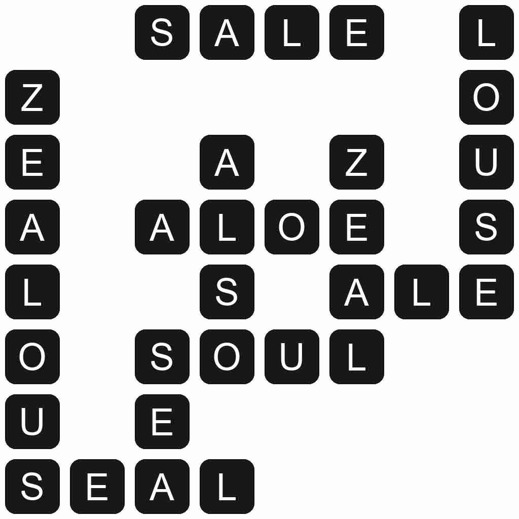 Wordscapes level 4678 answers