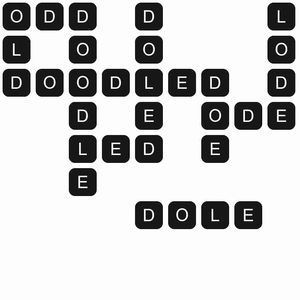 Wordscapes level 4697 answers