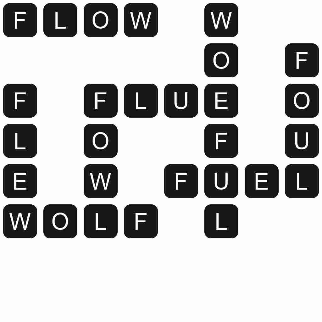 Wordscapes level 4719 answers