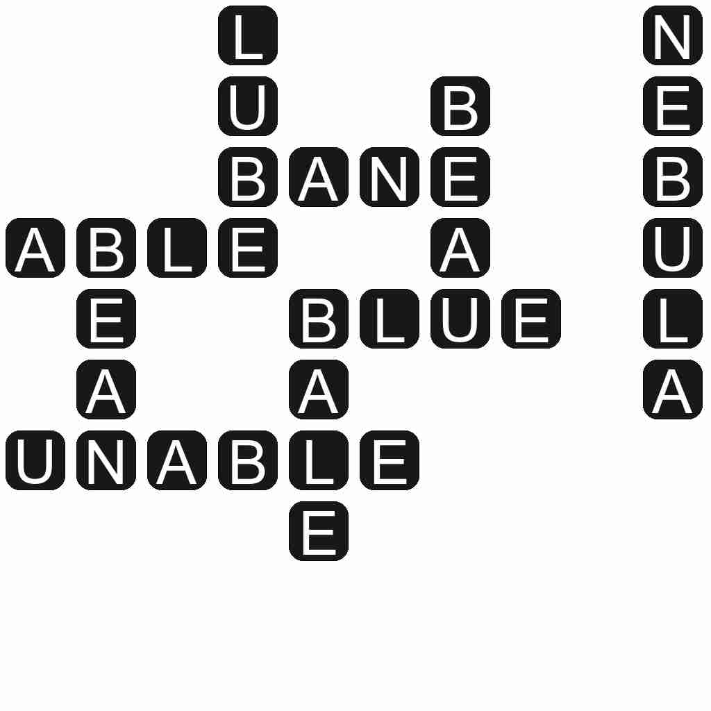 Wordscapes level 4745 answers
