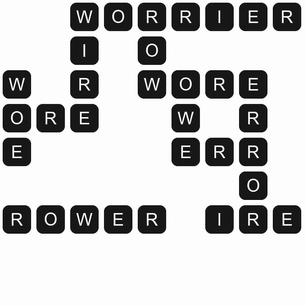 Wordscapes level 4781 answers