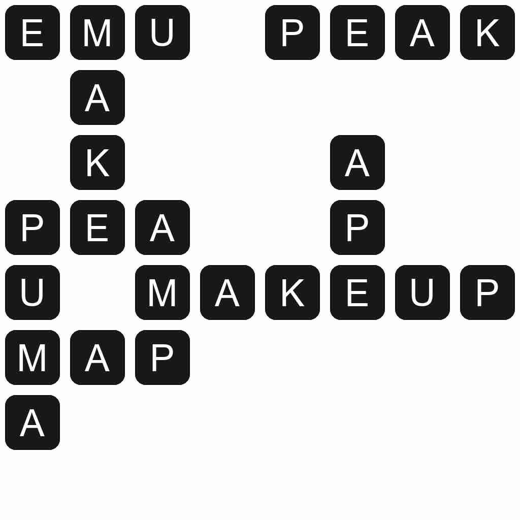 Wordscapes level 4789 answers