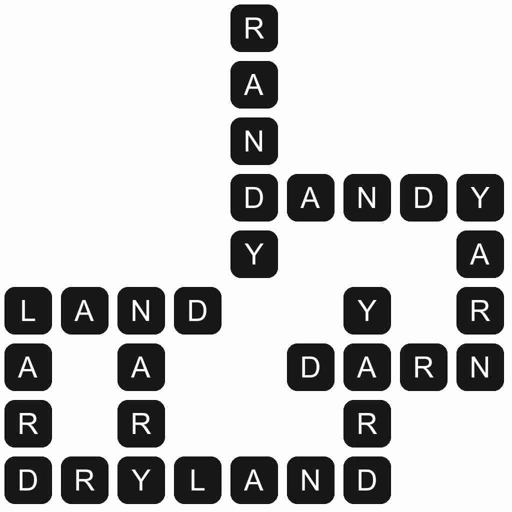 Wordscapes level 4790 answers